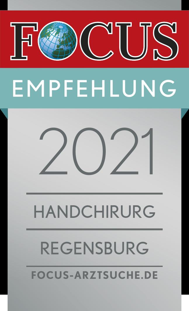 Focussiegel Handchirurg 2021