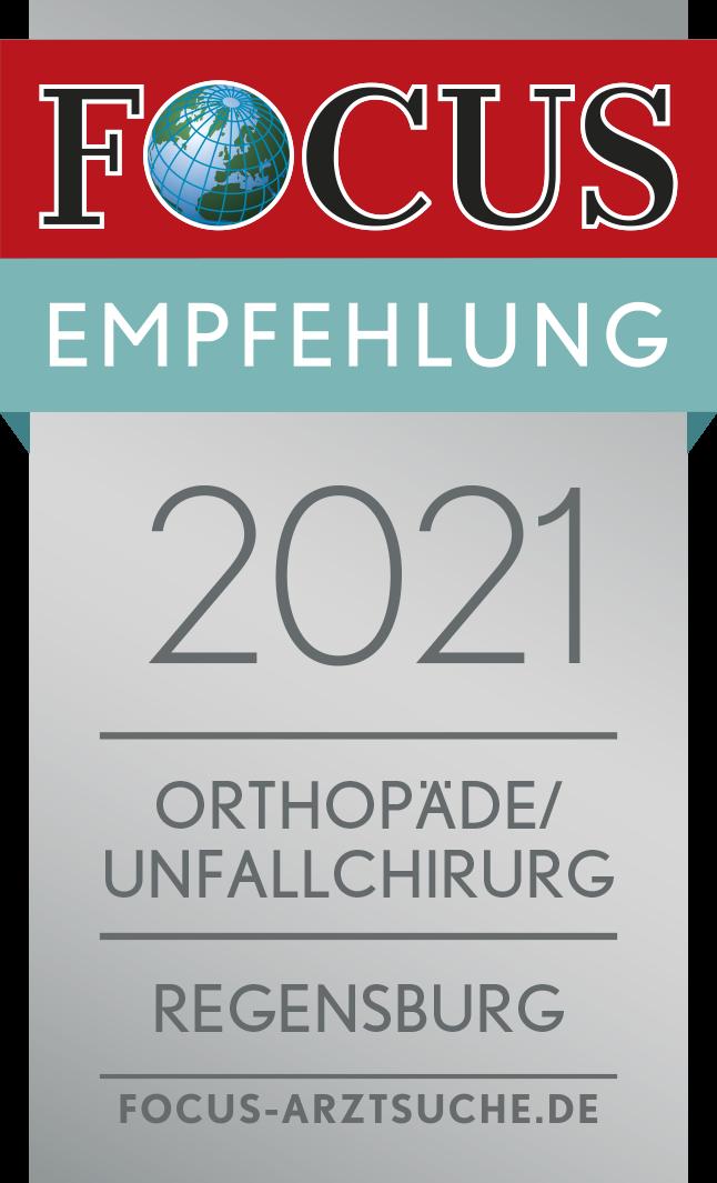 Focussiegel Orthopäde/Unfallchirurg 2021