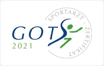 GOTS Sportarzt-Zertifikat